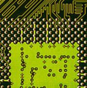 Behind The Processor Socket Art Print