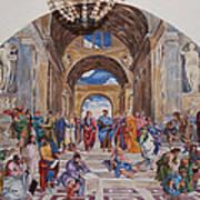 Behind The Scenes Mural 9 Art Print