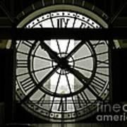 Behind Time Art Print