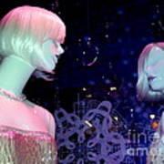 Bejeweled Blondes Art Print