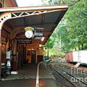 Belgrave Train Station Art Print