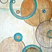 Belief In Circles Art Print by Debi Starr