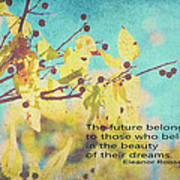 Believe In Dreams Art Print