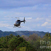 Bell 206 Helicopter Art Print