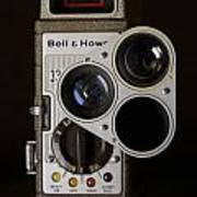 Bell And Howell 333 Movie Camera Art Print