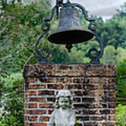 Bell Brick And Statue Art Print