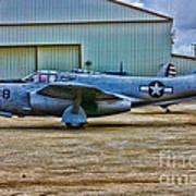 Bell P-59 Airacomet Art Print