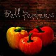 Bell Peppers II Art Print