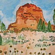 Bell Rock Art Print by Marcia Weller-Wenbert
