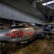 Bell X-1b Rocket Plane Art Print