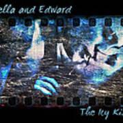 Bella And Edward - The Icy Kiss Art Print