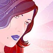 Bella Donna I Art Print