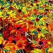 Bella Flora Painting Art Print