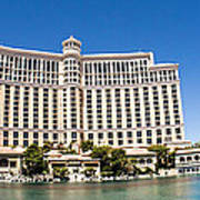 Bellagio Resort And Casino Panoramic Art Print