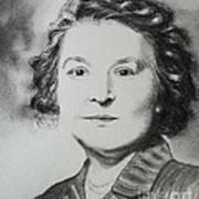 Belle Grand-mere Piche Art Print