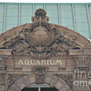 Belle Isle Aquarium Entrance 1 Art Print