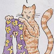 Belling The Cat 'well Art Print