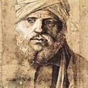 Bellini, Giovanni 1430-1516. Man Art Print