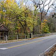 Bells Mill Road In Autumn Art Print