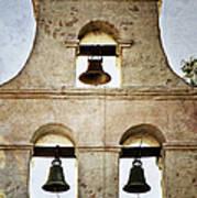 Bells Of Mission San Diego Art Print
