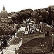 Below The Capitoline Hill Art Print