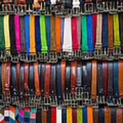 Belts Galore Art Print
