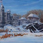 Belvedere Castle Central Park Nyc Art Print