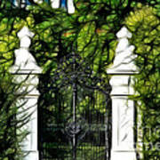 Belvedere Palace Gate Art Print