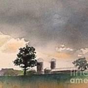 Bemis Road -1    Saline Michigan Art Print