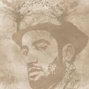 Ben Harper Music Man Art Print