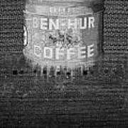 Ben Hur Coffee Art Print
