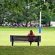 Bench Thoughts Art Print