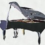 Bendy Piano Art Print