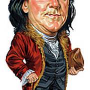 Benjamin Franklin Art Print by Art