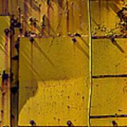 Bent Ladder Art Print
