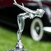 Bentley Hood Ornament Art Print