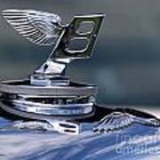 Bentley Reflections Art Print