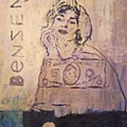 Benzene Art Print