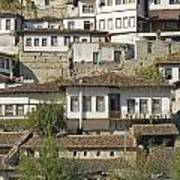 Berat Old Town In Albania Art Print