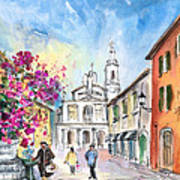 Bergamo Lower Town 01 Art Print