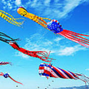 Berkeley Kite Festival 1 Art Print