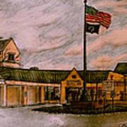 Berks County Jail Main Entrance Art Print