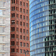 Berlin Buildings Detail Art Print