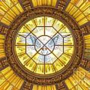 Berlin Cathedral Ceiling Art Print