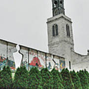 Berlin Wall Segment Art Print