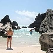 Bermuda Bikini Art Print
