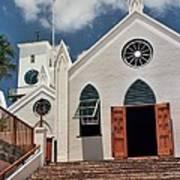 Bermuda Church Art Print