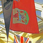 Bermuda Dockyard Art Print