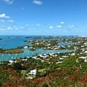 Bermuda From Gibbs Hill Lighthouse Art Print