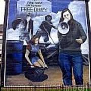 Bernadette Devlin Mural Art Print